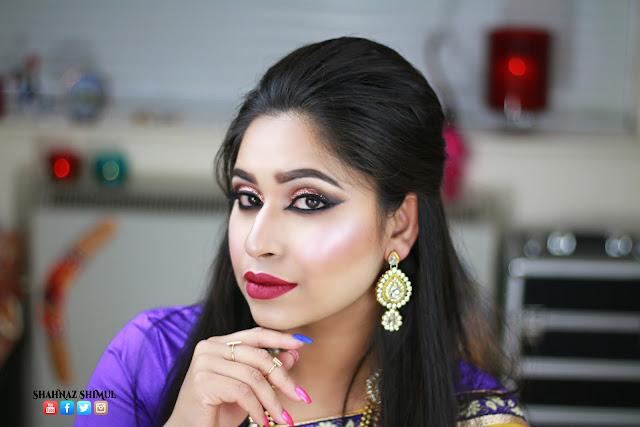 Shahnaz Shimul - GRWM   Eid Makeup Look 2016   Glam Makeup Tutorial