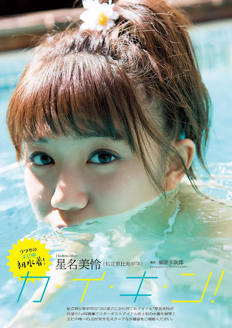 Hoshina Mirei 星名美怜 Weekly Playboy No 45 2016
