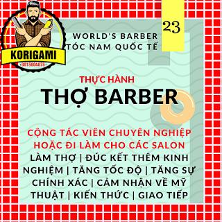 BARBER, HỌ LÀ AI ? Sao không gọi là thợ cắt tóc nam cho dễ hiểu ?