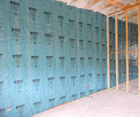 Hy-Fi hybrid insulation system finished wall