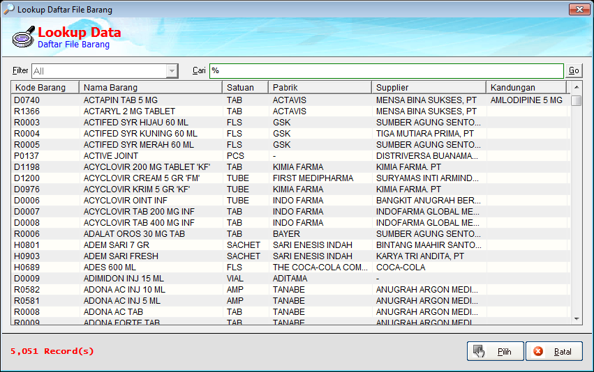 Membuat Lookup Data Program Aplikasi VB6