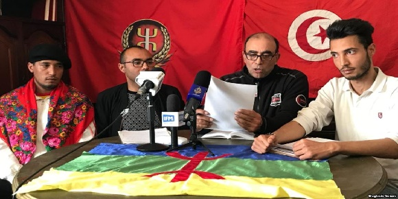 أول حزب  سياسي أمازيغي بتونس حزب اكال