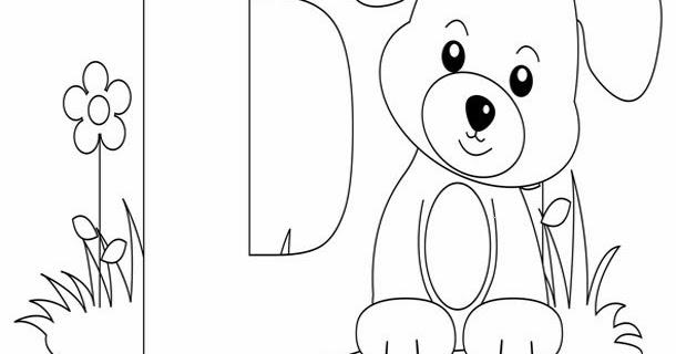 Kids Page: D Is For Dog Worksheet