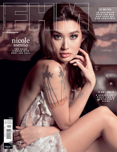 Nicole Asensio FHM September 2017 Cover Free Download