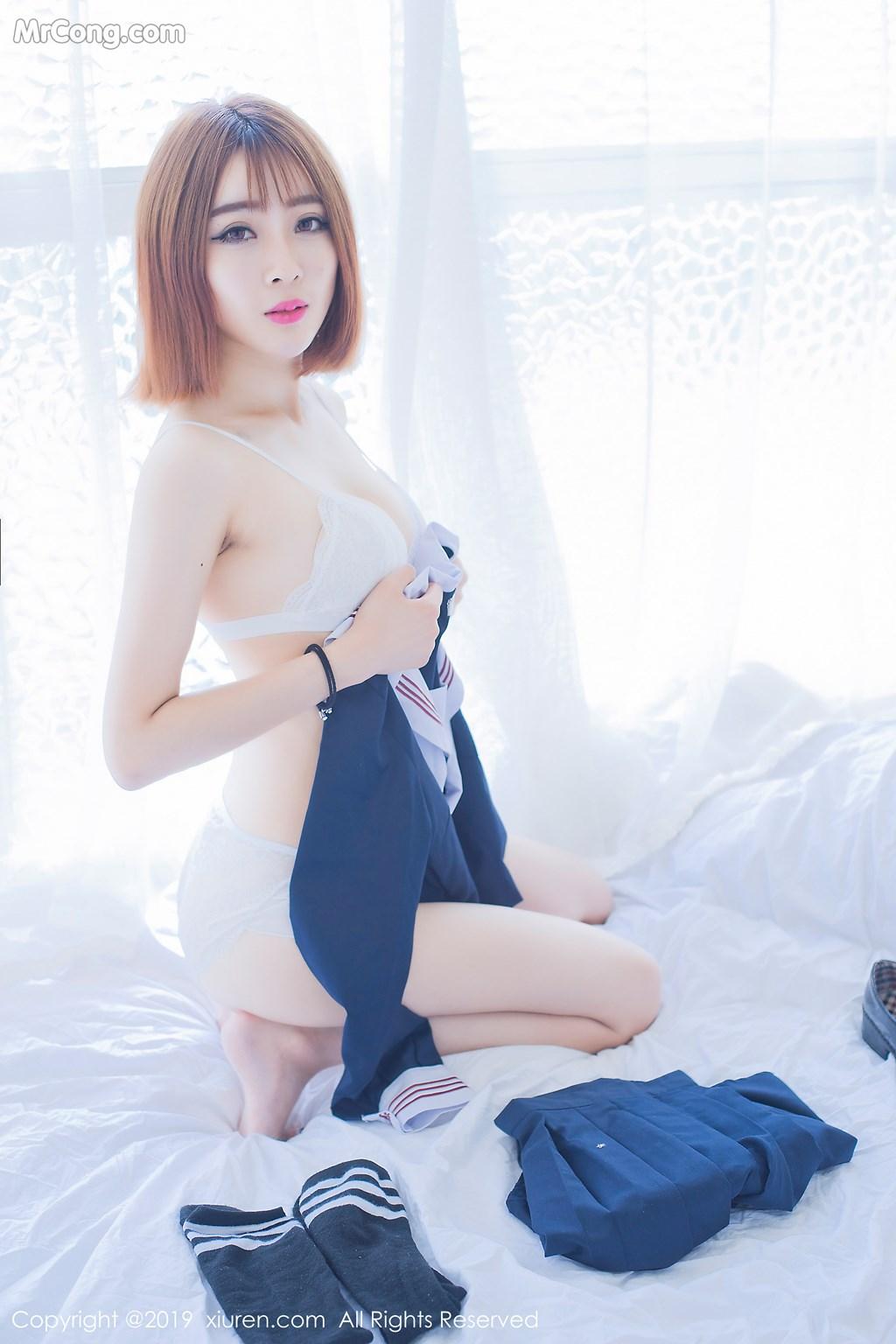 Image XIUREN-No.1451-Ling-Ping-Er-MrCong.com-002 in post XIUREN No.1451: Ling Ping Er (凌萍儿) (45 ảnh)