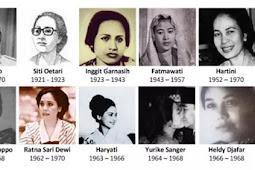 Kisah Asmara Istri Soekarno Pertama Sampai Terakhir