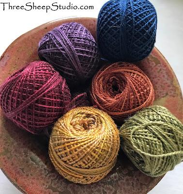 Valdani Perle Cotton for Punch Needle