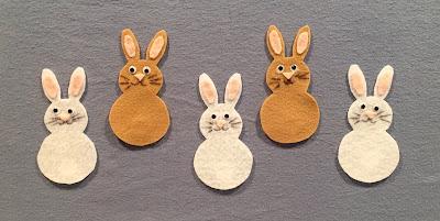5 Five Little Bunnies/Rabbits, bunny flannel, rabbit flannel