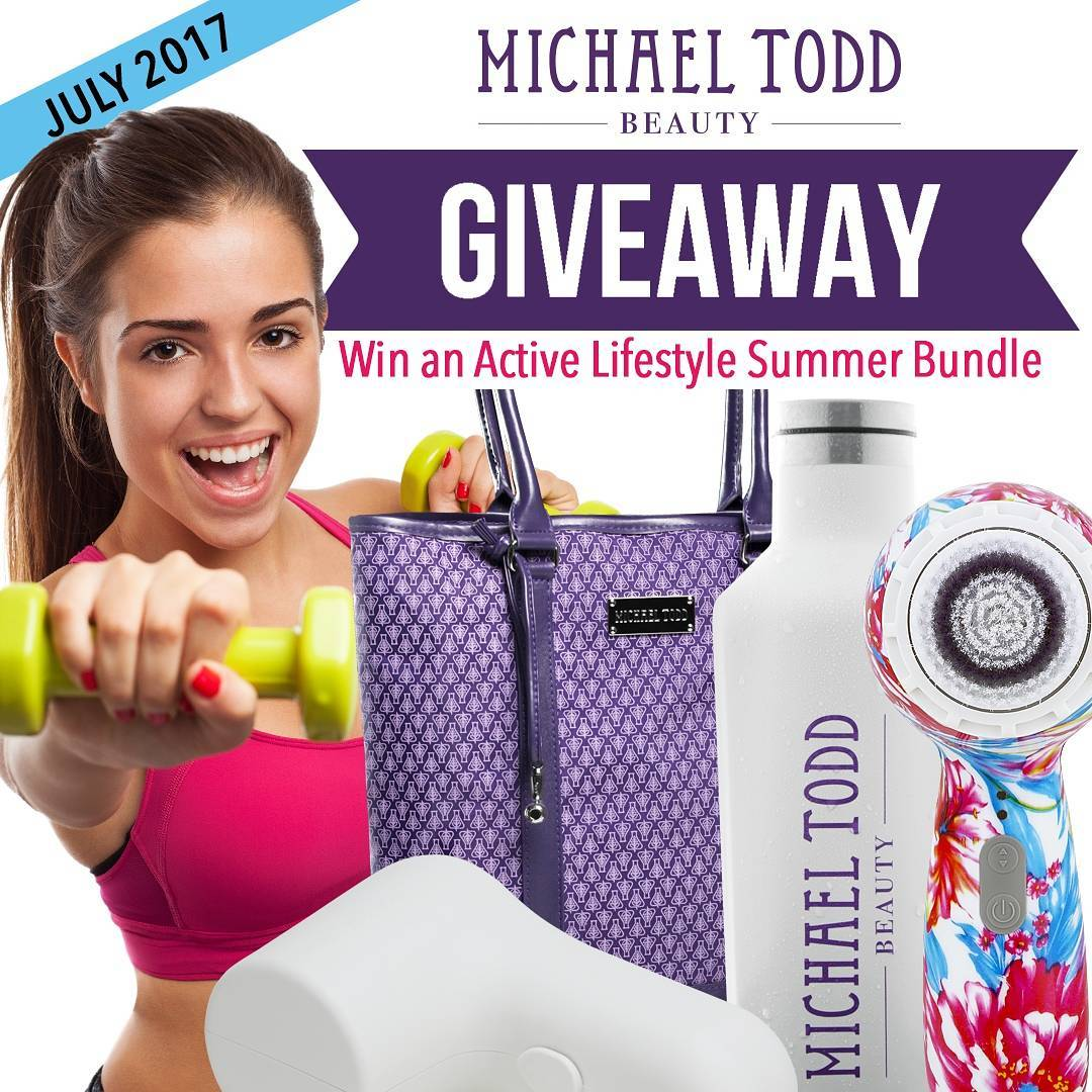 Win An Active Lifestyle Summer Skincare Bundle By Michael Todd Beauty Valued At Over $200 By Barbies Beauty Bits