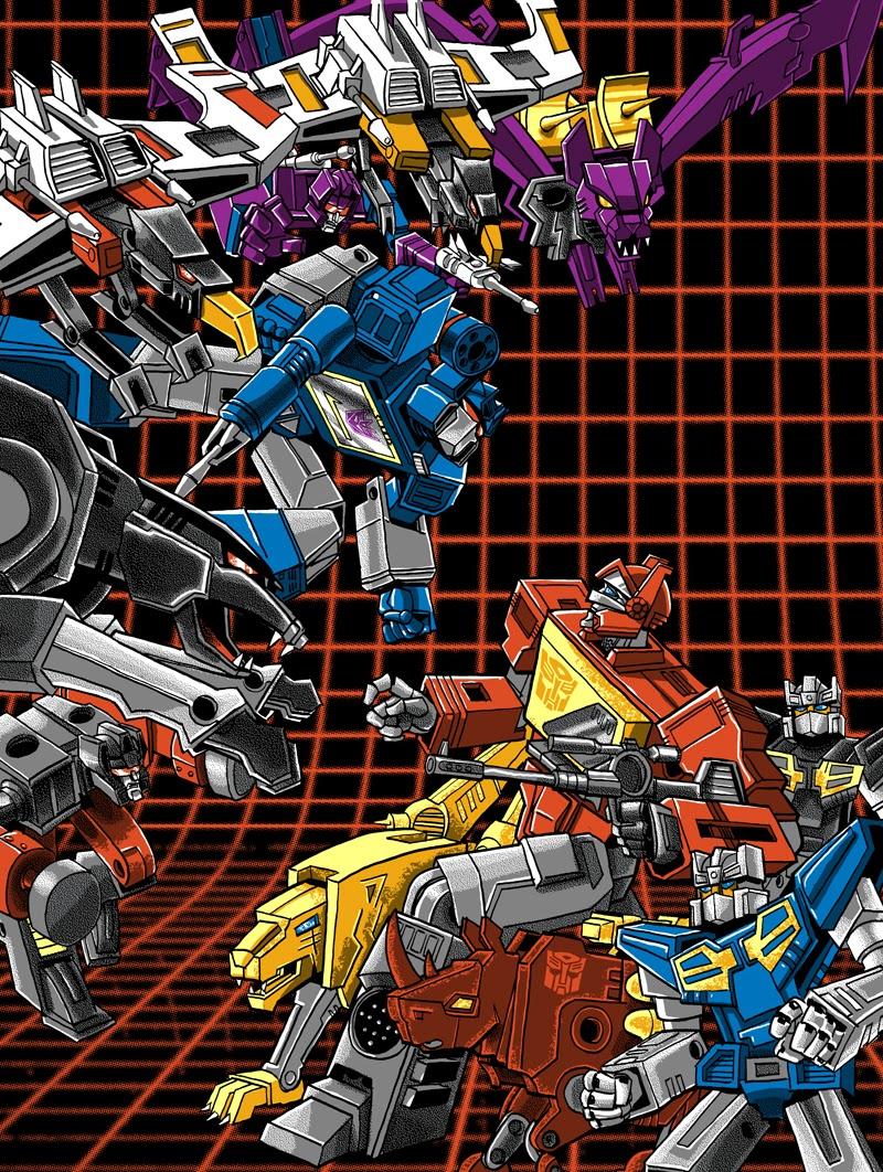 Inside The Rock Poster Frame Blog Tim Doyle Soundwave Vs