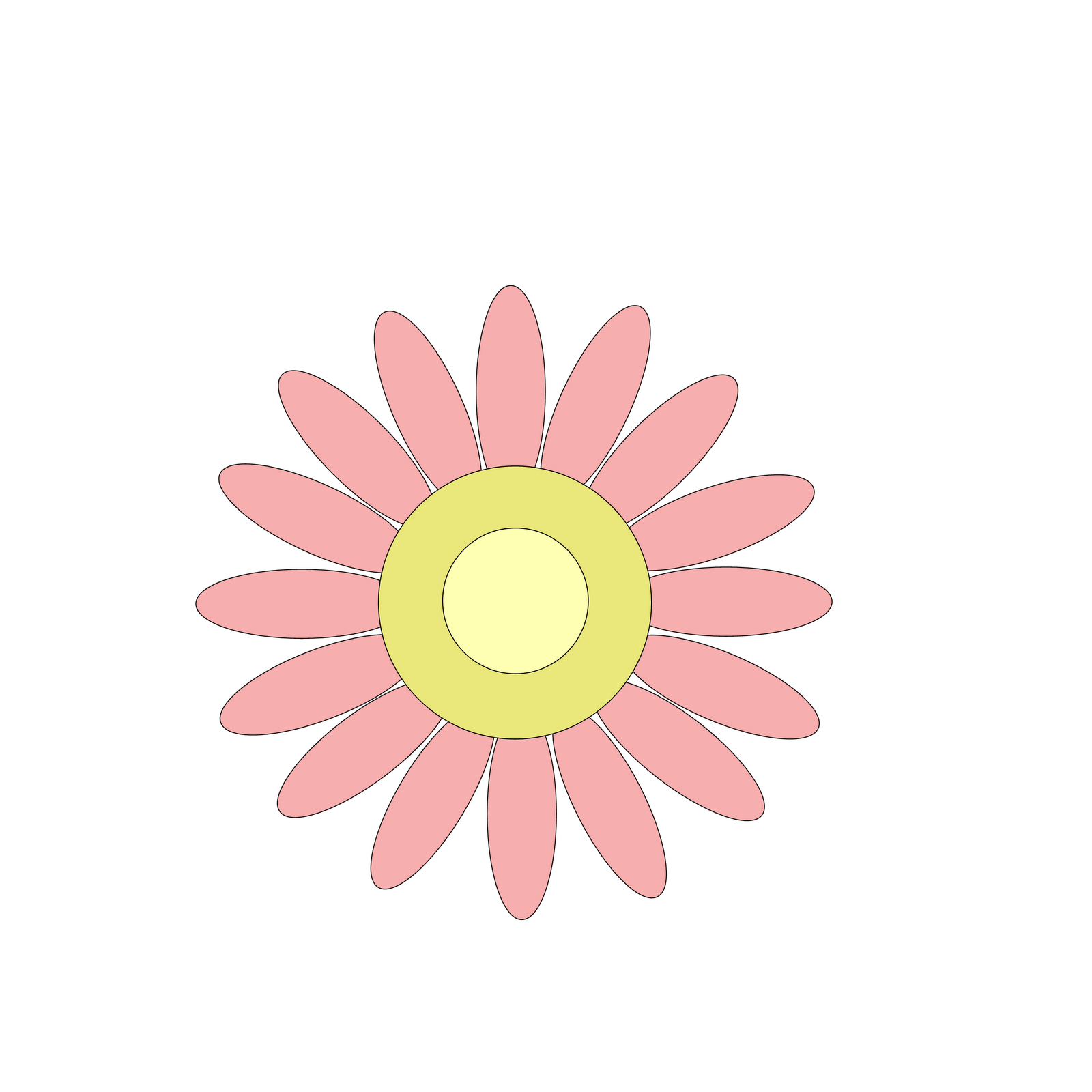 Free Clipart N Images Free Pink Flower Clipart