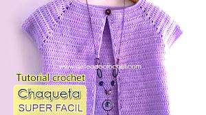 Chaqueta Súper Fácil / Aprende Crochet