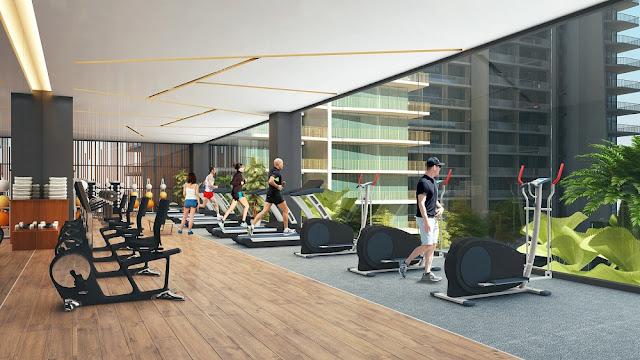 Phòng Gym tại dự án căn hộ Condotel Times Square Đà Nẵng