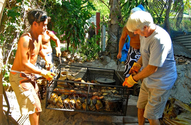 gastronomie frans-polynesie, gastronomie tahiti, grondoven tahiti