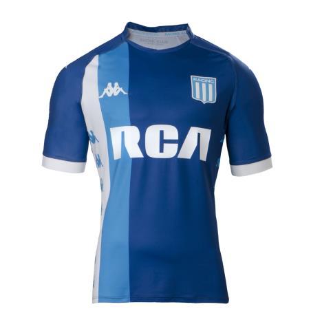 ae726d4950 Camiseta kappa alternativa Racing Club 2018. Bianco