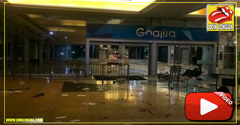 Saquearon el Centro Comercial Sambil de Maracaibo