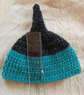 赤ちゃんどんぐり帽子のサイズ