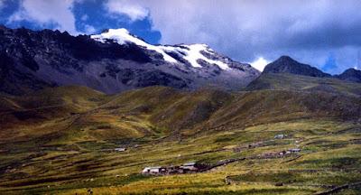 Vùng núi cao Andes là nơi xuất phát của Maca- Sâm Peru