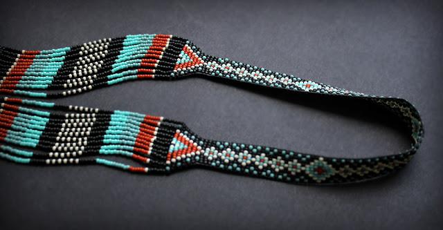 необычный элитный гердана из бисера где купить в россии качественные изделия из бисера этно бохо
