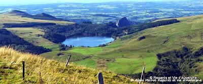 Lac d'Auvergne : le Pavin
