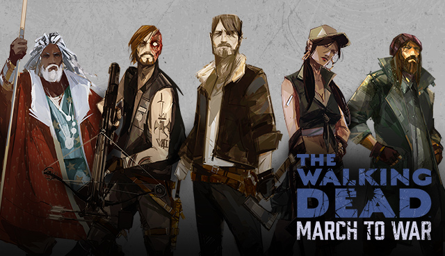 The Walking Dead: March To War v0.9.0 – APK – Download