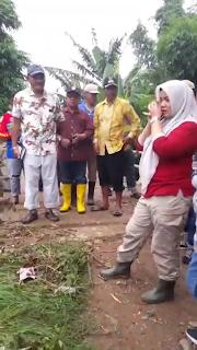 <b>Bupati IDP Tinjau Desa Ngali, Minta BWS Programkan Normalisasi Sungai</b>