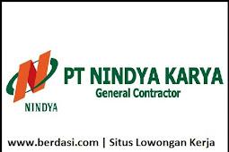 Penerimaan Pegawai PT Nindya Karya (Persero) Tahun 2017