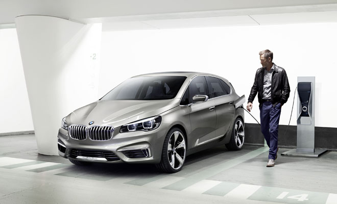 BWM Concept Active Tourer plug-in hybrid