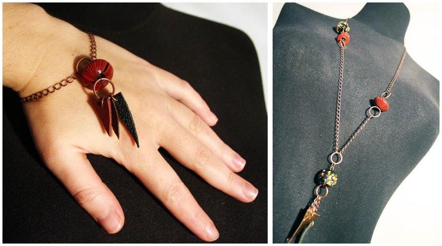 parure, bijoux, bracelet, sautoir, collier, Ekceli, bullelodie