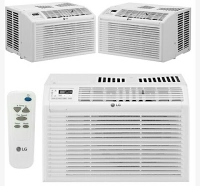 LG Air Conditioner - 6000BTU Window Mount AC
