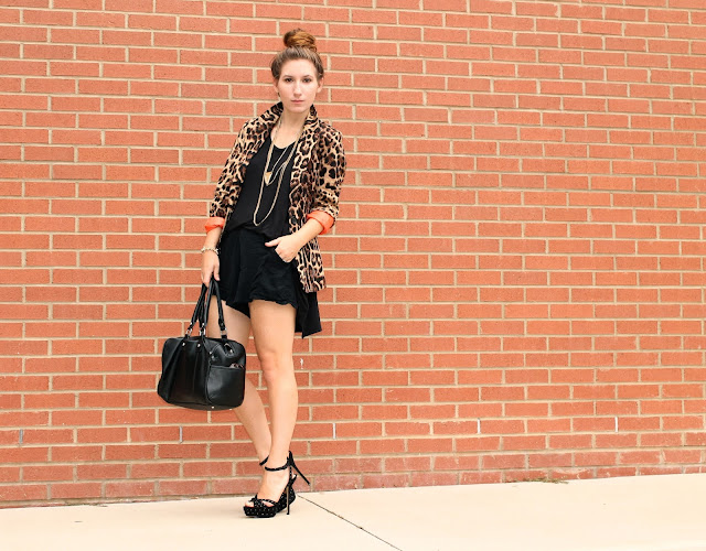leopard blazer for summer