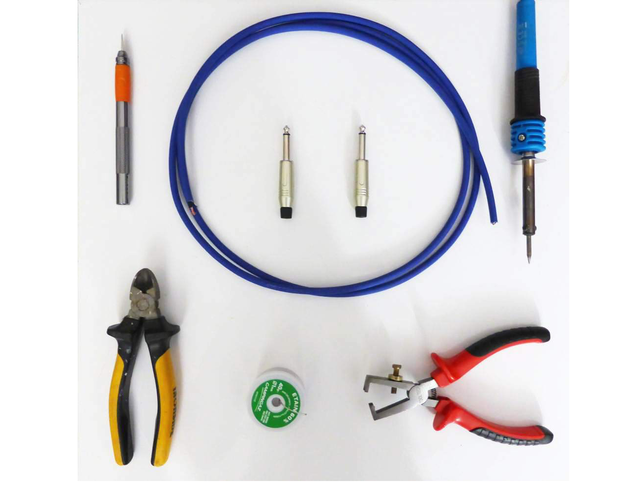how to build instrument cable