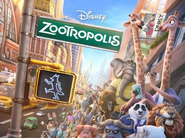 MOVIE REVIEW - DISNEY'S ZOOTROPOLIS  aka ZOOTOPIA