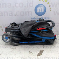 blue pliko raider stroller