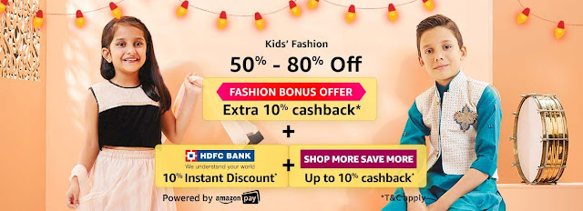 Kids Fashion 50% to 80% off