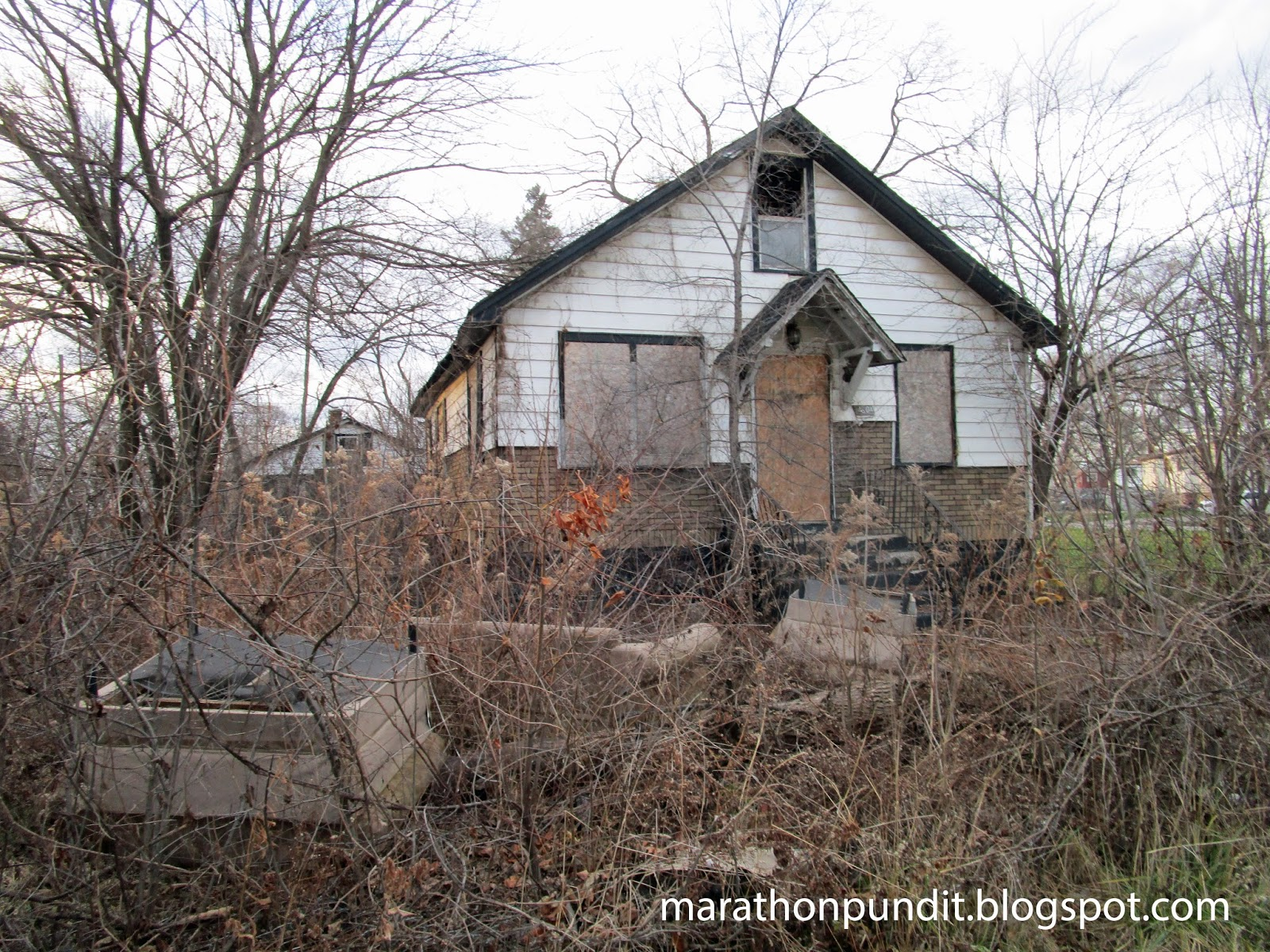 Marathon Pundit: (Photos) Abandoned homes in the corrupt ...