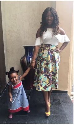 Simi Esiri and her adorable daughter Sidney step out in style