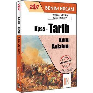 2017 KPSS Tarih Konu Anlatımı Benim Hocam Yayınları