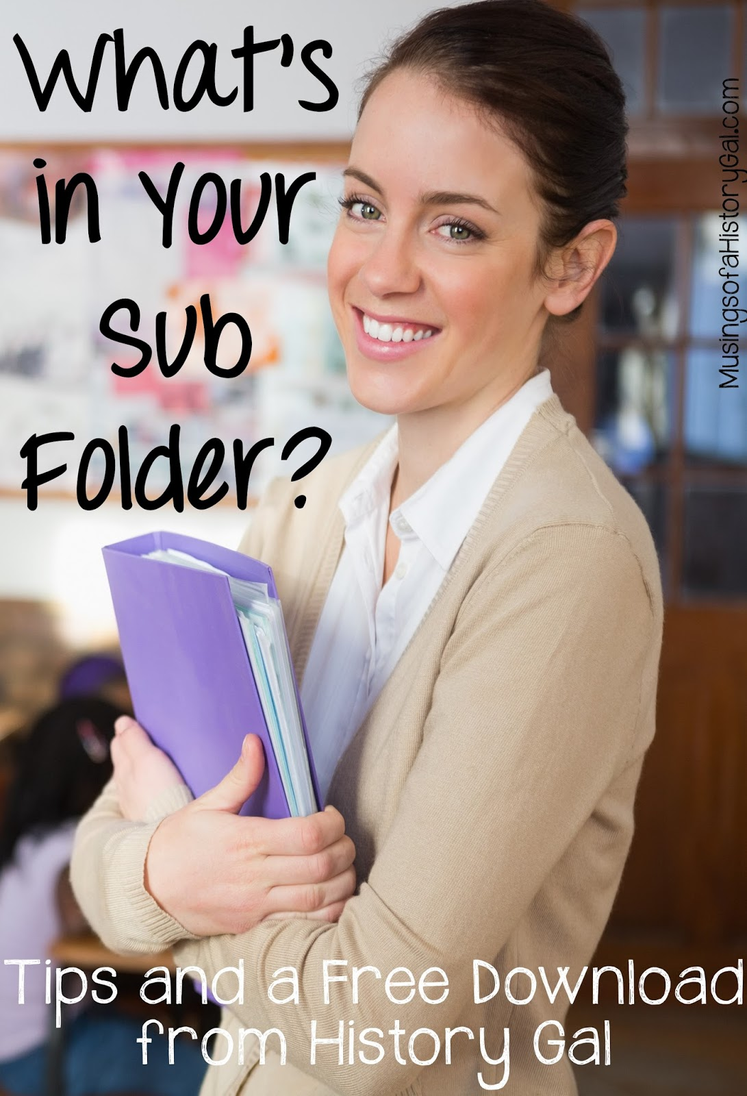 Sub Folder tips and a Freebie By History Gal