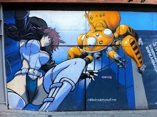 Graffiti en Londres, Inglaterra