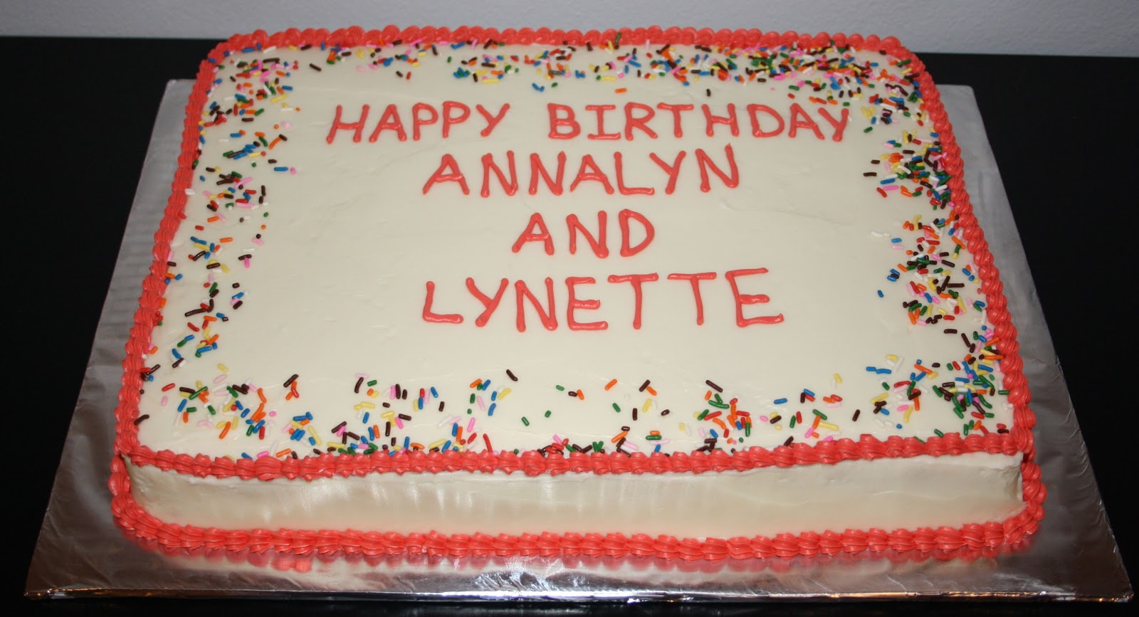Jacqueline S Sweet Shop Happy Birthday Annalyn And Lynette