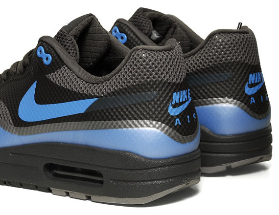 premium selection 4f946 a2224 Nike Air Max 1 Hyperfuse – Black – Blue Glow   New Images