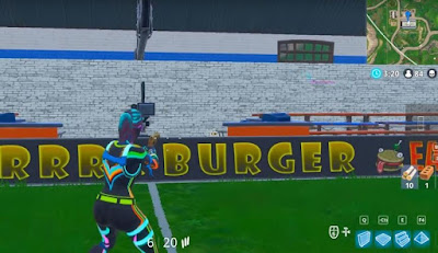 Indoor Football Field, Film Camera Locations, Fortnite, BR