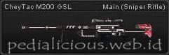 CheyTac M200 GSL
