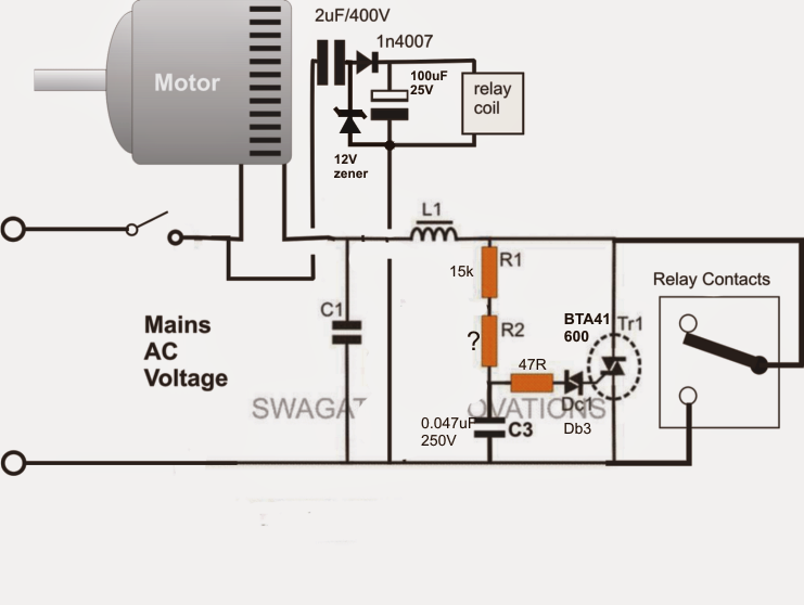 110v Pool Timer Wiring Diagram Adding A Soft Start To Water Pump Motors Reducing Relay