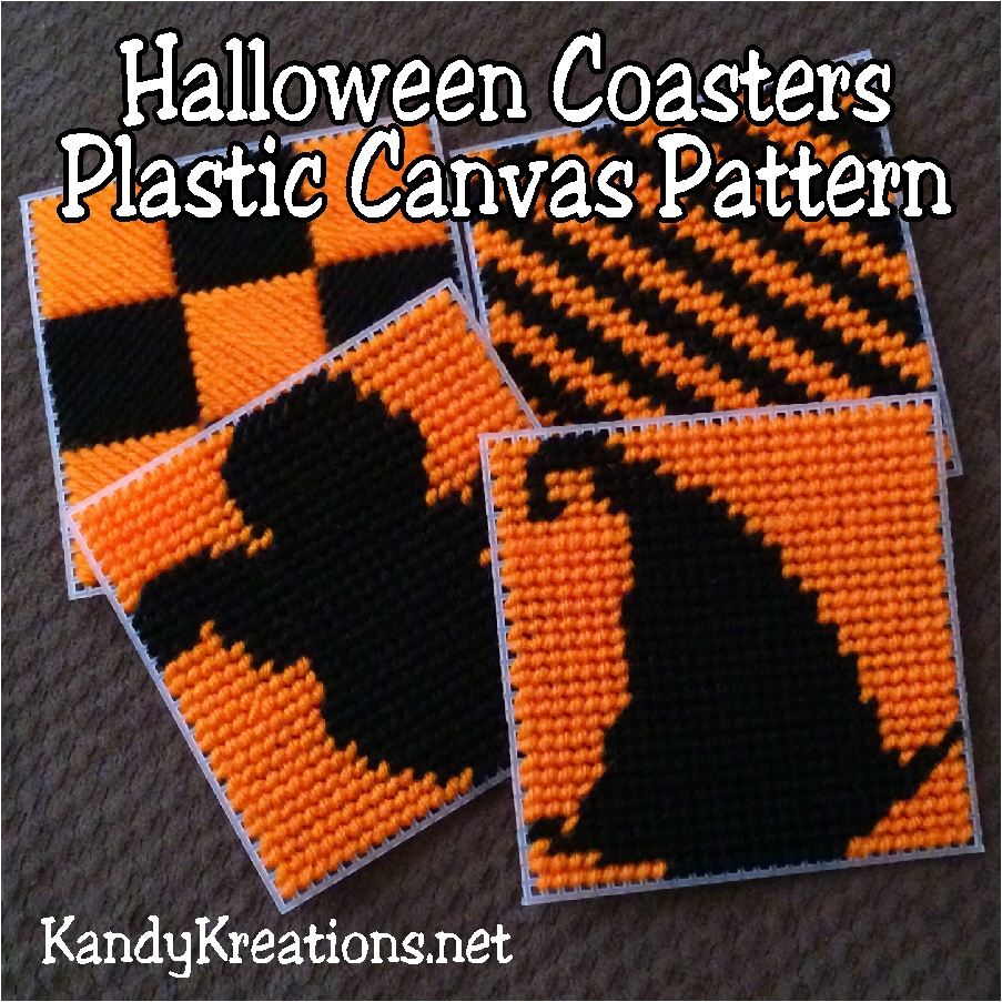 plastic canvas halloween | hallowen