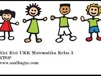 Kisi Kisi UKK/ UAS Matematika Kelas 3 Semester 2/ Genap
