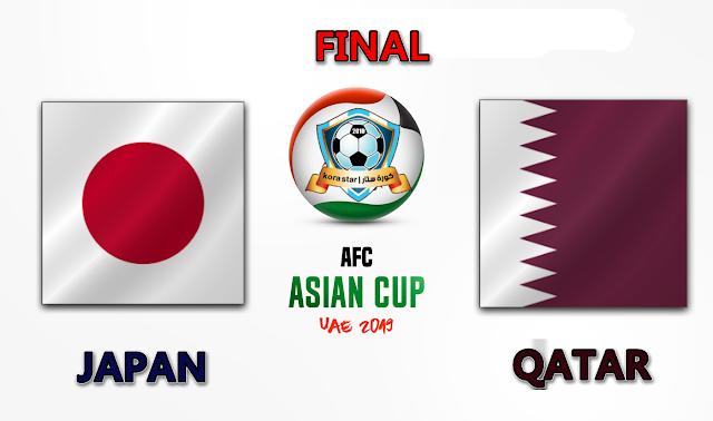 مباراة قطر واليابان 1-2-2019 نهائي كاس اسيا