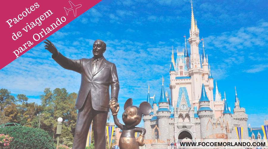 Venha viajar com o Foco em Orlando