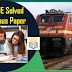 RRB JE PREVIOUS QUESTION PAPER WITH ANSWERS FREE